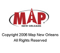 Map New Orleans Copyright